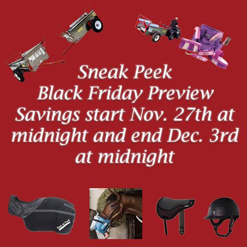 Black Friday savings from Nov. 27th to Dec 3rd