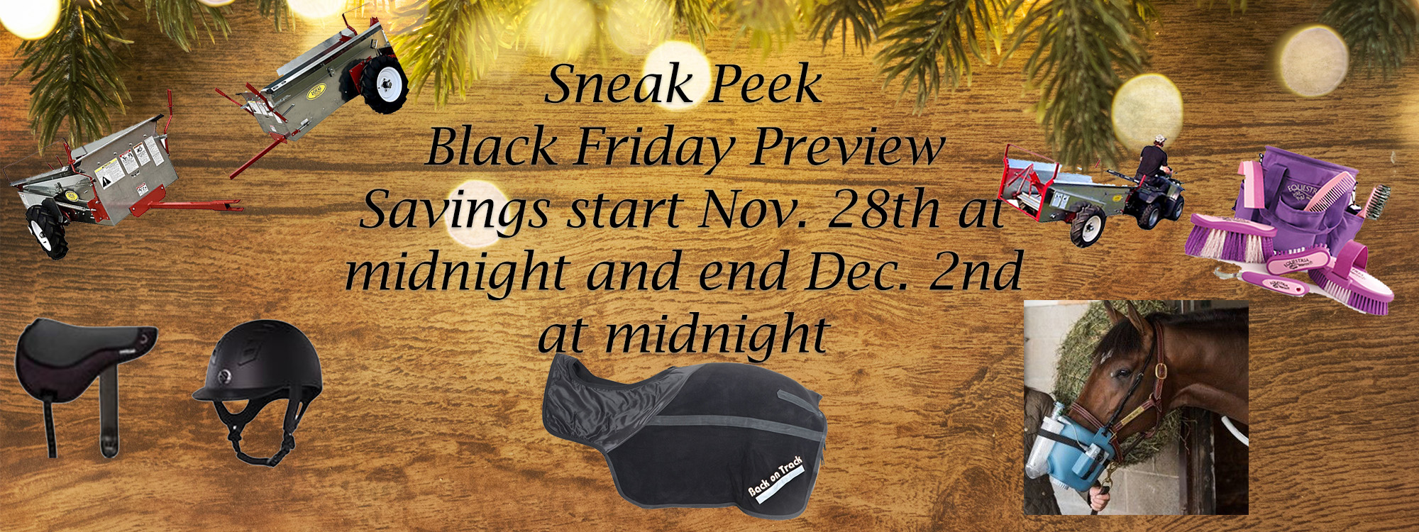 Black Friday savings from Nov. 28th to Dec 2nd